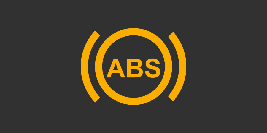 Gul Advarselslampe: ABS System